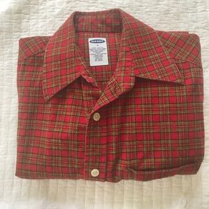 Old Navy Shirts - ❤️Sale Old Navy Plaid Flannel Shirt